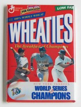 Yankees Wheaties FRIDGE MAGNET new york cereal ... - $4.95