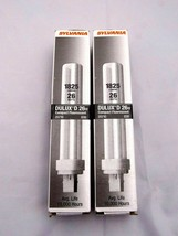 Lot of 2 Sylvania DULUX D26w new Compact Fluorescent Bulbs - CF26DD/830 ... - $12.64
