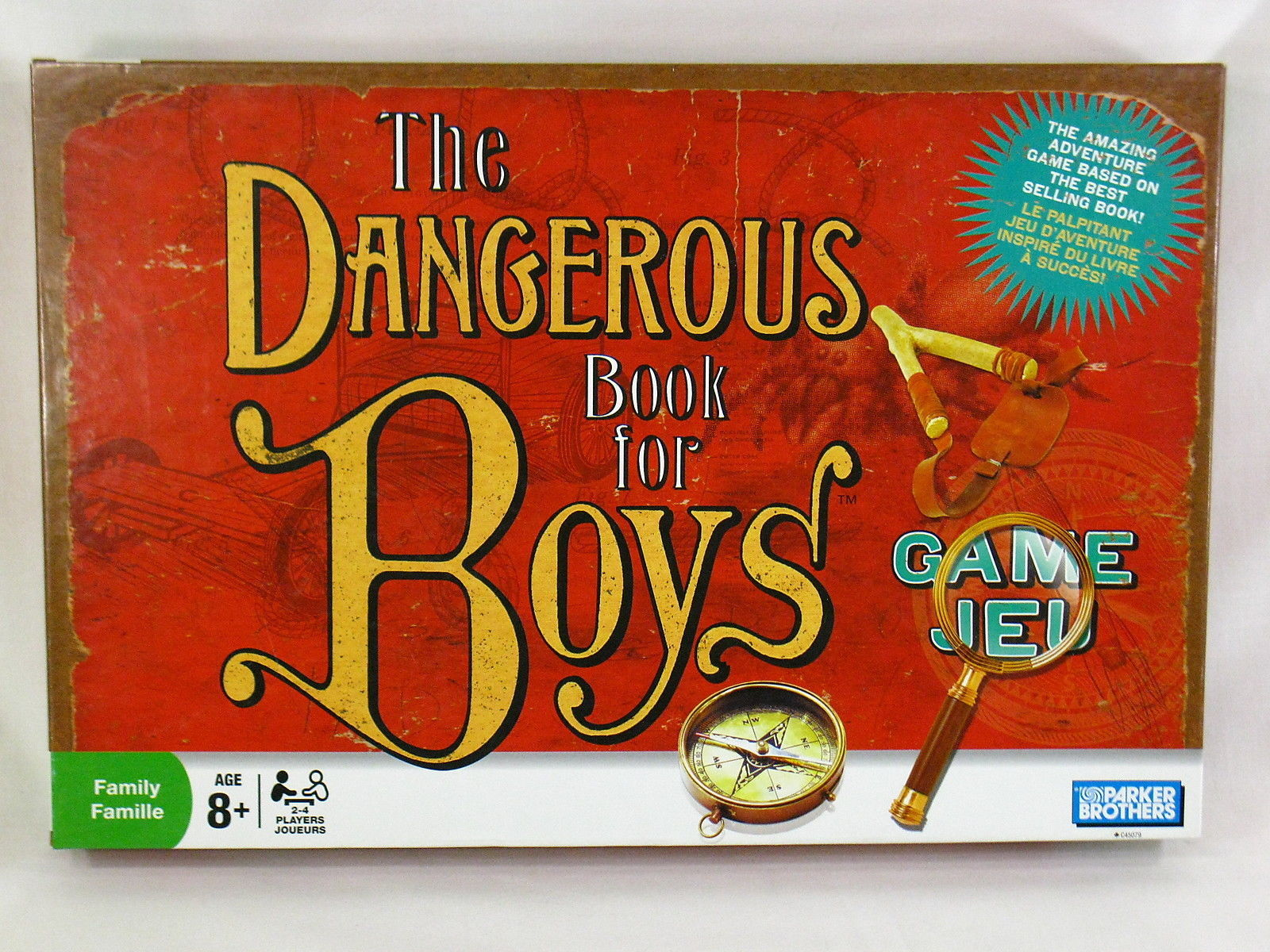 Primary image for The Dangerous Book for Boys Board Game 2006 Parker Brothers 100% Complete @@@@