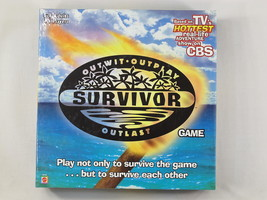 Survivor 2000 Board Game Outwit Outplay Outlast... - $15.84