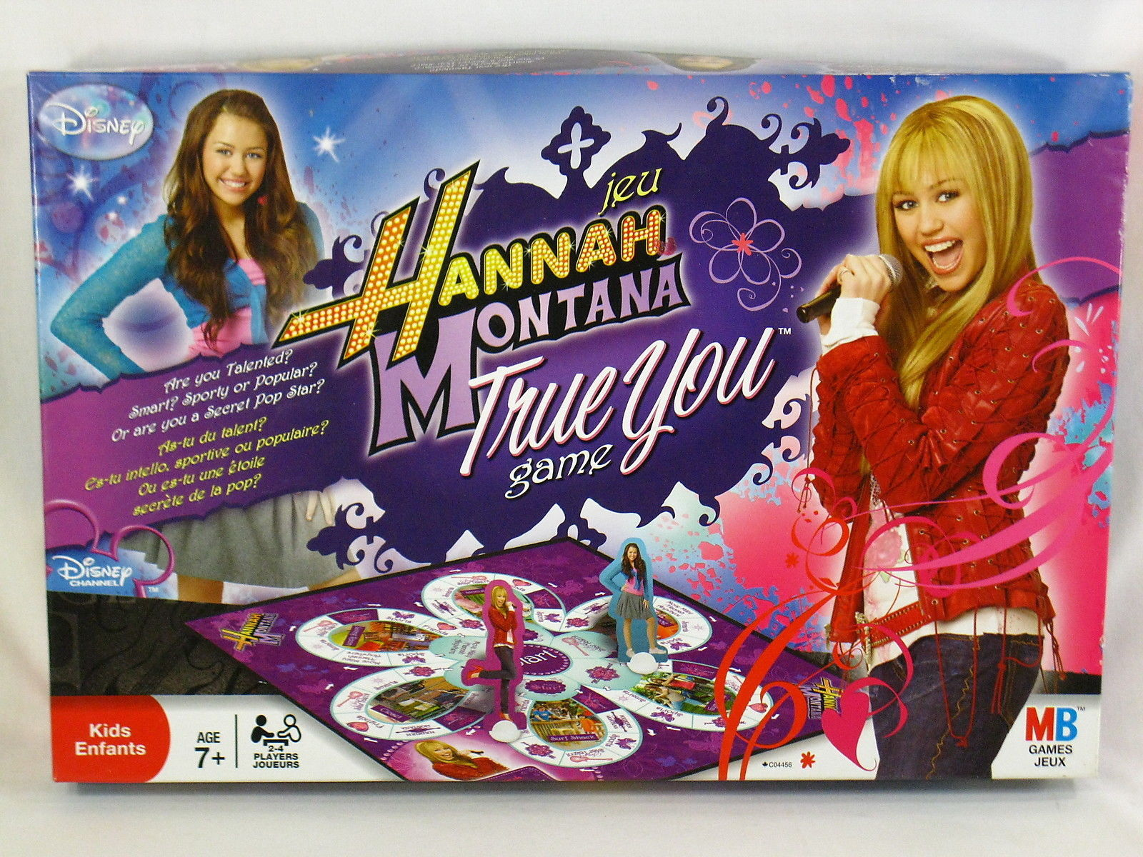 Primary image for Hannah Montana True You 2008 Board Game Hasbro Milton Bradley Bilingual @@@@