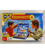 U-Build Connect 4 Game 2010 Hasbro 100% Complete Near Mint Condition @@@@ - $12.72