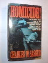 Homicide!...Author: Charles W. Sasser (used paperback) - $7.00
