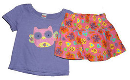 Toddler 2T Girls Top and Skirt Set - $13.00