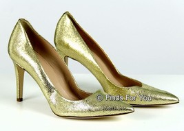 J Crew Everly Crackled Metallic Leather Pumps Sz 7 Style# A1109 $255 New... - $163.34