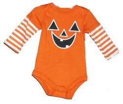 Baby's Pumpkin Onesie  - $9.00