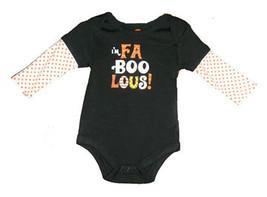 "Baby's ""I'm Faboolous"" Halloween Onesie - $9.00"