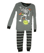 12 Months Infant Boys and Boys Skeleton Pajamas - $13.00