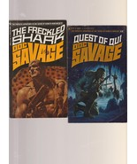 Quest of Qui & Freckled Shark 1966/1972 two Doc Savage 1sts - $21.00