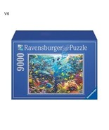 Original Puzzle Jigsaw Collectors 9000 Piece Underwater Paradise Jigsaw ... - $107.95