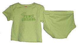 "3-6 Months Baby Boys ""Prince Charming"" Diaper Set  - $10.00"