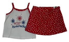 """Infant Baby Girls """"Mommy's Littlel Firecracker"""" Summer Set - $13.00"""