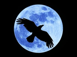 Haunted FULL COVEN FULL CROW MOON MAGICK 925 RING/PENDANT WITCH Cassia4  - $26.00
