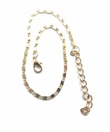 GOLD COLOR WATER DROP BEACH ANKLET TRENDY 9 INCH WITH EXTENSION - $5.94