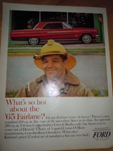 Ford What's So Hot About the '65 Fairlane Print Magazine Ad 1965 - $6.99
