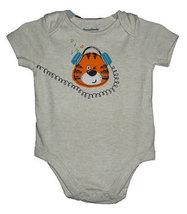 0-3 Months Baby Boys Tiger Lap Shoulder Onesie - $9.00