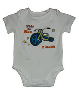 """Newborn 5.5-7.5 Pounds Boys """"This is How I Roll!"""" Onesie - $9.00"""