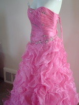 Pink Prom Dress Size 6 by Forever Yours MSRP $629 NWT  image 1
