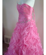 Pink Prom Dress Size 6 by Forever Yours MSRP $629 NWT  - $349.99
