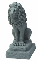 EMSCO Group Guardian Lion Statue – Natural Granite Appearance – Made of ... - €57,72 EUR
