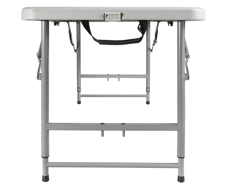4' Foot Multi Purpose Indoor Outdoor FOLDING Table w/ADJUSTABLE Heights