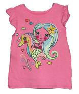 24 Months Girls Mermaid & Seahorse Tee Shirt - $9.00