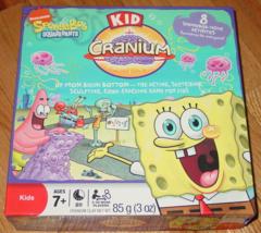 Cranium Kid Cranium Spongebob Squarepants Hasbro 2008 Complete - $15.00