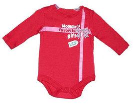 """Newborn & Baby Girls """"Mommy's Favorite Gift"""" Onesie - $9.00"""