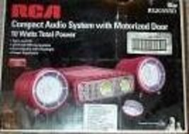RCA Compact Audio System with Remote RS2035RD Red [Office Product] - $75.00