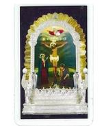 Laminated Prayer Card - Senor de los Milagros - 300.0296 - $1.95