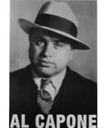 Al Capone 4 L Vintage 11X14 BW Mobster Memorabilia Photo - $12.95