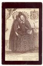 Victorian carte de visites photograph Queen Elizabeth England antique vi... - $9.00