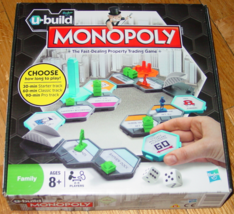 MONOPOLY UBUILD PROPERTY TRADING GAME 2010 HASBRO COMPLETE NIB SEALED PARTS - $15.00