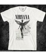 grunge, vintage 90s nirvana t shirt, rock, alternative, tour, teen spiri... - $19.99+