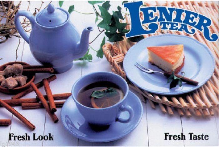 Lenier's Decaf. Peach Black Leaf Tea 3oz  Free Shipping