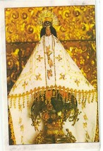 Laminated Prayer Card - Virgen De Juquila - L300.0310