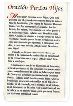 Laminated Prayer Card - Virgen De Juquila - L300.0310 image 2
