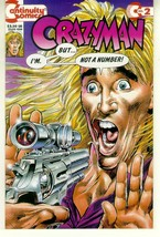 CRAZYMAN #2 (Continuity Comics) NM! - $1.00