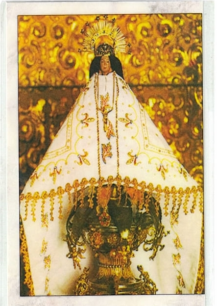 Laminated prayer card   oracion a la virgen de juquila 300.0311 001