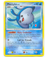 Mantyke 55/130 Uncommon Diamond & Pearl Pokemon Card - $7.59