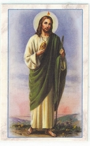 Laminated Prayer Card - San Judas Tadeo - L300.0317 image 1