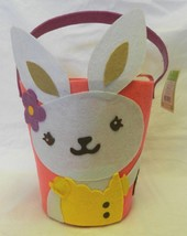 Pink Purple Yellow Easter Rabbit Bunny Felt Egg... - $7.81