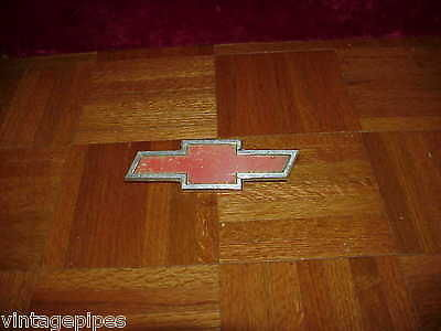 Chevy Red Chrome Hood Emblem 6.5