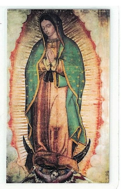 Laminated prayer card   magnificat 300.0315 001