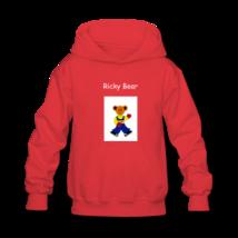Ricky bear kids hooded sweatshirt thumb200