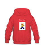 Ricky Bear Kids' Hooded Sweatshirt (Hooded sweatshirt for kids, 60% cott... - $34.50