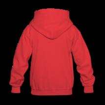Ricky bear kids hooded sweatshirt back thumb200