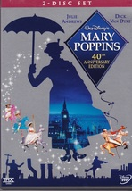 Mary Poppins 40th Anniversary  2 Disc DVD set - $30.00