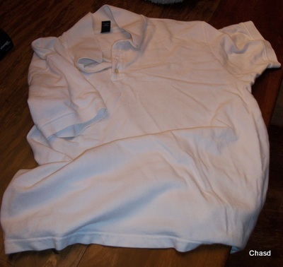 Gap White XL Cotton Pique  Men's Pullover
