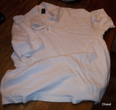 Gap White XL Cotton Pique  Men's Pullover - $8.00